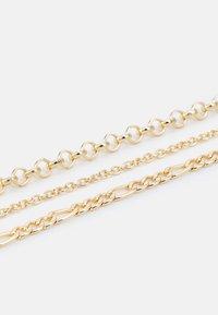 Pieces - PCLARUEN BRACELET 3 PACK - Bracelet - gold-coloured - 2