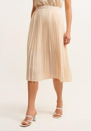 MIT FALTEN - A-line skirt - beige