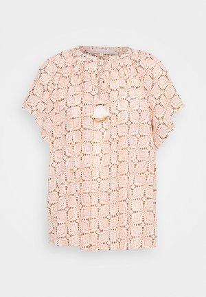 LOWELL - Print T-shirt - beige