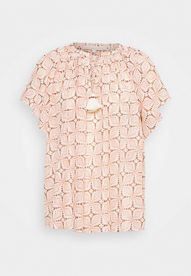 Vanessa Bruno - LOWELL - Print T-shirt - beige
