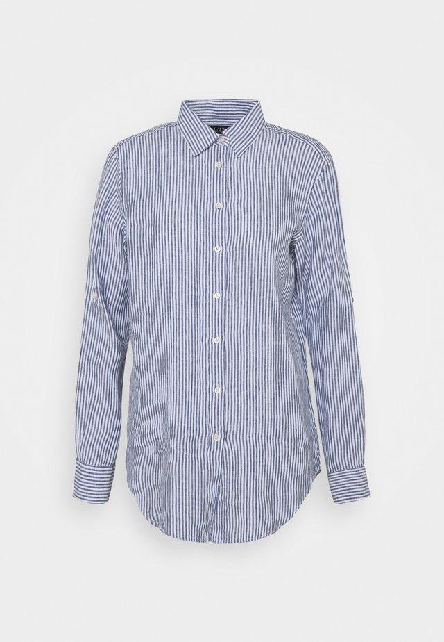 TISSUE - Camicia - blue