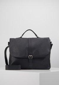 Burton Menswear London - MESSENGER - Taška spříčným popruhem - black - 0