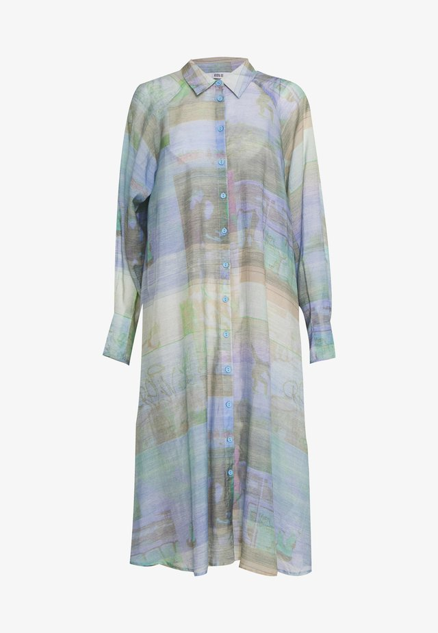 BANKZY DRESS - Shirt dress - multi coloured