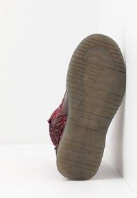 Friboo - Šněrovací kotníkové boty - bordeaux - 5