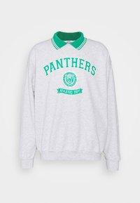 Vintage Supply - VARSITY PANTHERS GRAPHIC UNISEX - Sweatshirt - ash grey - 0