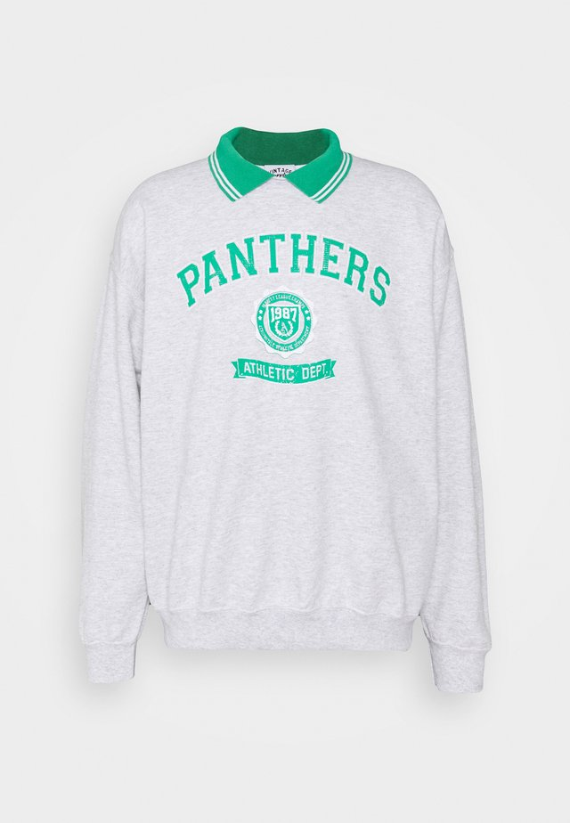 VARSITY PANTHERS GRAPHIC UNISEX - Sweatshirt - ash grey