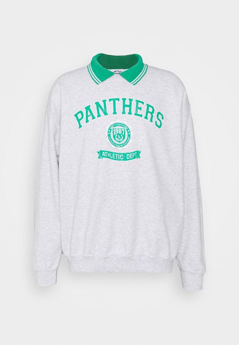 Vintage Supply - VARSITY PANTHERS GRAPHIC UNISEX - Sweatshirt - ash grey