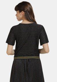 myMo - SHIRT - Print T-shirt - schwarz multicolor - 2