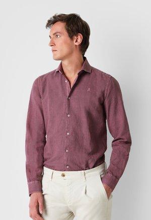 SKULL  - Camicia - burgundy