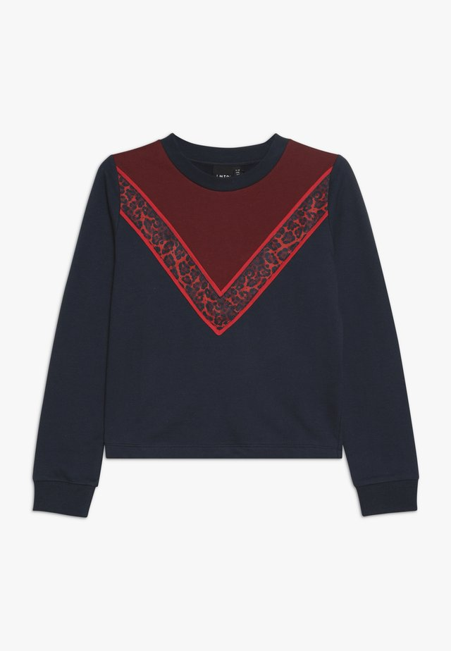 NLFRITA SHORT - Sweatshirt - sky captain