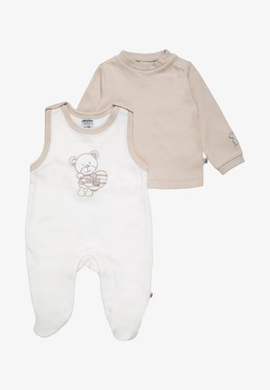 BEAR SET - Sleep suit - offwhite/beige