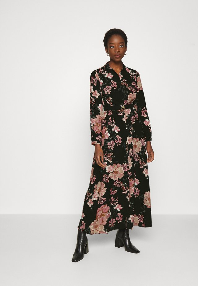 VMSUNILLA BELT ANCLE DRESS - Robe longue - black