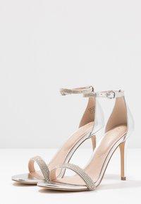ALDO - AROCLYA - Sandaler med høye hæler - silver - 4