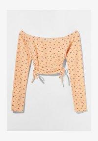 Bershka - MIT CARMEN - Long sleeved top - orange - 4