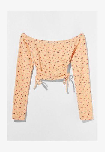 MIT CARMEN - Long sleeved top - orange