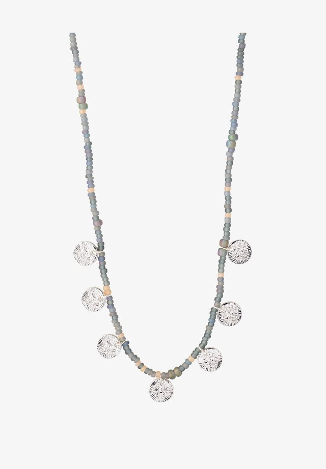 Collier - ox silver/grey mix