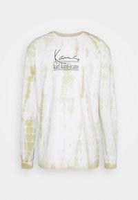Karl Kani - SIGNATURE TIE DYE UNISEX - T-shirt à manches longues - white - 4