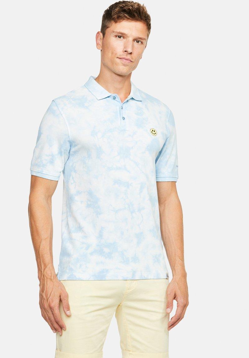 Colours & Sons - PHIL - Polo shirt - hellblau