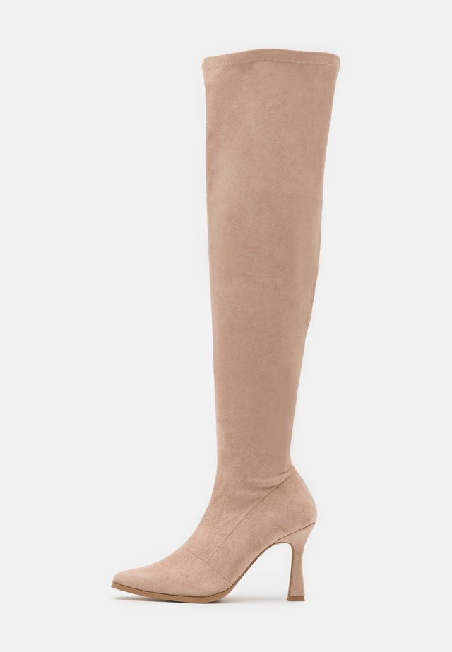 FEATURE BOOT - High heeled boots - sand