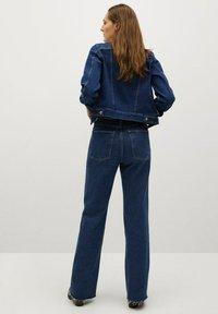 Mango - Denim jacket - dark blue - 2