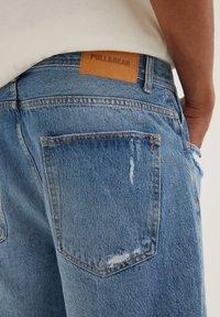 PULL&BEAR - Denim shorts - dark-blue denim - 4
