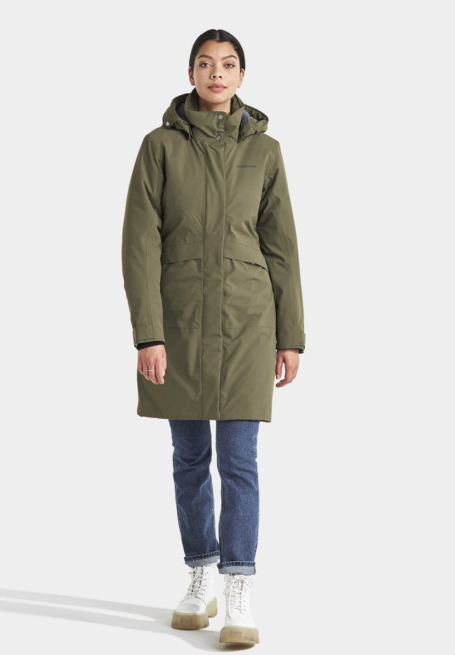 EMILIA - Winter coat - fog green