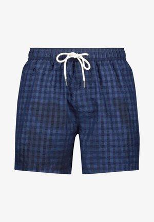SEERSUCKER  - Swimming shorts - dark blue