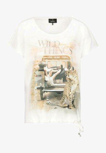 MIT PRINT - Blouse - white