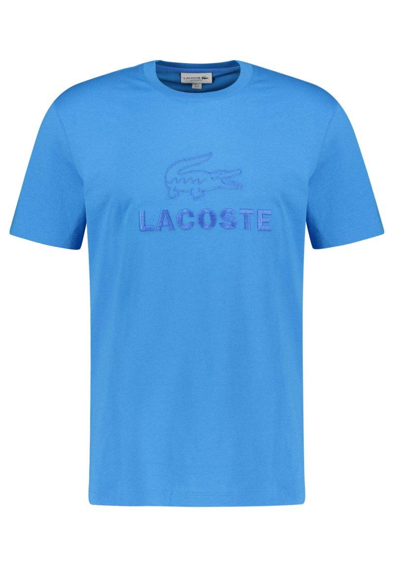 Lacoste - TH8602-00 - Triko spotiskem - blau