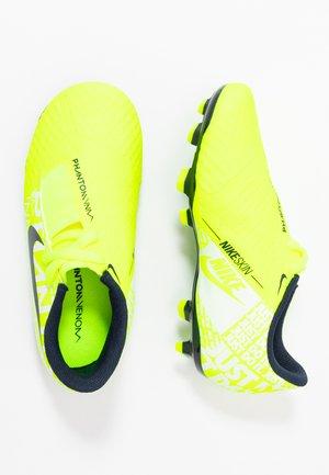 NIKE JR. PHANTOM ACADEMY FG FUSSBALLSCHUH FÜR NORMALEN RASEN FÜR ÄLTERE KINDER - Chaussures de foot à crampons - volt/obsidian/barely volt