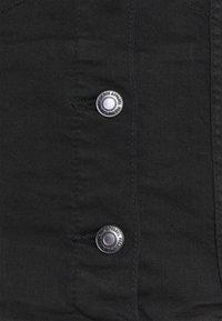 Vero Moda - VMTINE SLIM JACKET - Denim jacket - black denim - 2
