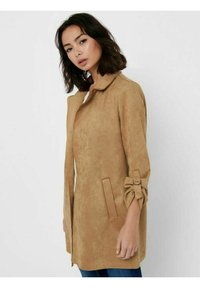ONLY - Short coat - toasted coconut - 2