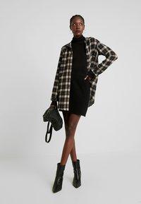 NAF NAF - MAILLARD - Mini skirt - noir - 1