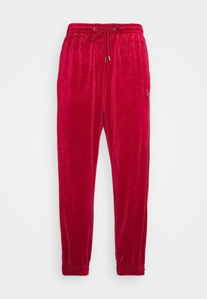 SIGNATURE TRACK PANTS UNISEX - Verryttelyhousut - dark red