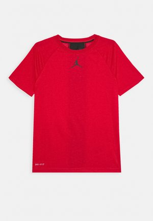 CORE PERFORMANCE - Print T-shirt - gym red