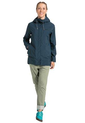 Outdoor jacket - steelblue