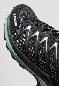 Lowa - INNOX PRO GTX MID - Hiking shoes - schwarz/sage - 5