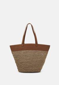 Zign - LEATHER - Shopping bag - cognac - 0