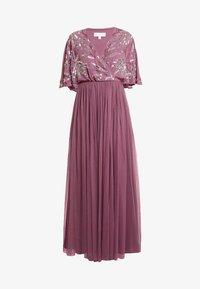 Maya Deluxe - EMBELLISHED KIMONOWRAP MAXI DRESS - Occasion wear - purple - 4