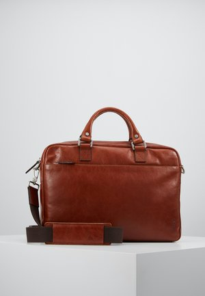 BUDDY - Briefcase - cognac