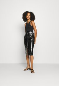 Fashion Union - TOFFIN - Pencil skirt - Black - 1