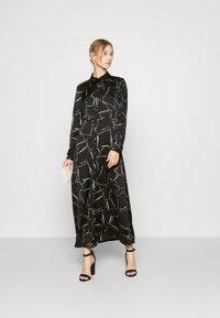 Vero Moda - VMCALA  ANCLE DRESS  - Maxi dress - black - 0