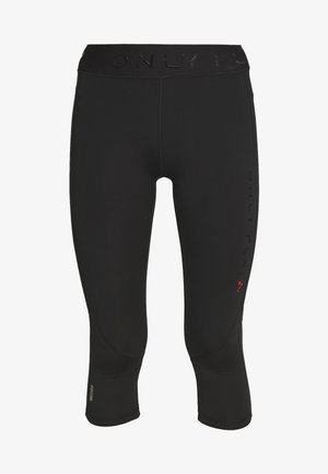 ONPPERFORMANCE TRAINING - 3/4 Sporthose - black/red