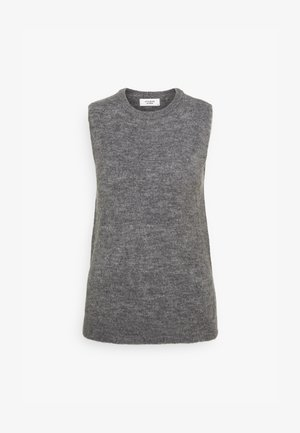 JDYELANOR VEST - Topper - dark grey melange