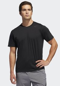 adidas Performance - FREELIFT SPORT PRIME LITE T-SHIRT - T-shirt basic - black - 0