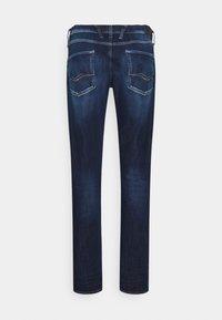 Replay - ANBASS HYPERFLEX BROKEN&REPAIR - Slim fit jeans - dark blue - 1