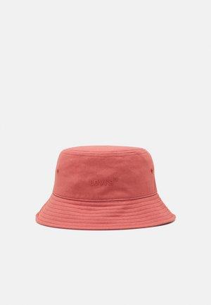 WORDMARK BUCKET HAT UNISEX - Hat - dull red