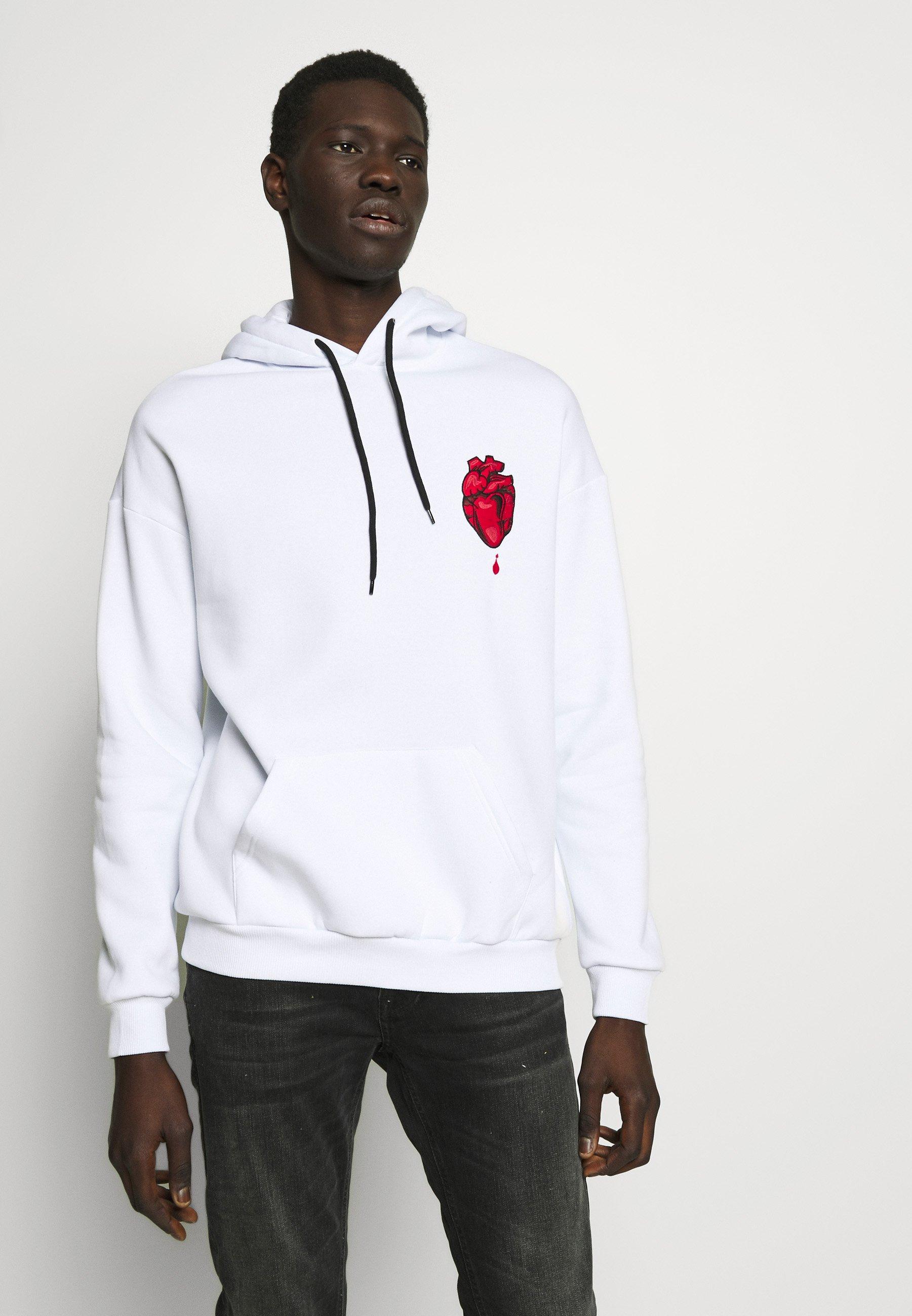 YOURTURN Hoodie - white - Women's winter clothes wxTC9