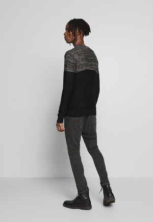 WAYNE - Slim fit jeans - charcoal wash