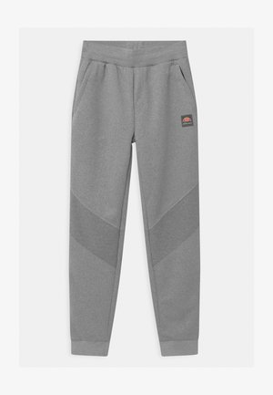 DAZONI UNISEX - Tracksuit bottoms - mottled grey